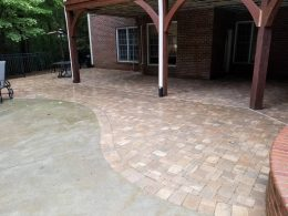 Belgard paver patio
