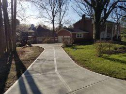 Cary driveway