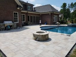 David Rhode paver pool patio