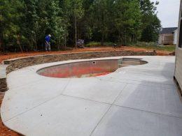 Garner pool patio