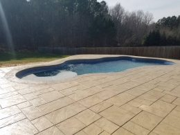Large Ashlar with Desert Tan integral and Cappucino release