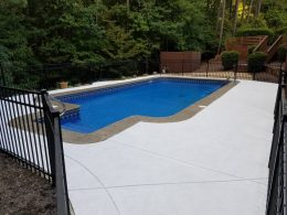 Overlay behind smokey beige stamped coping – Copy