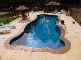 Phil Sabino pool after 2