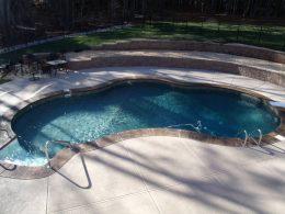 Rigney pool with overlay