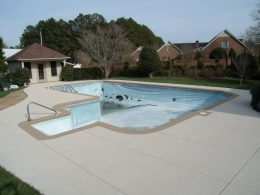 Sanford pool after