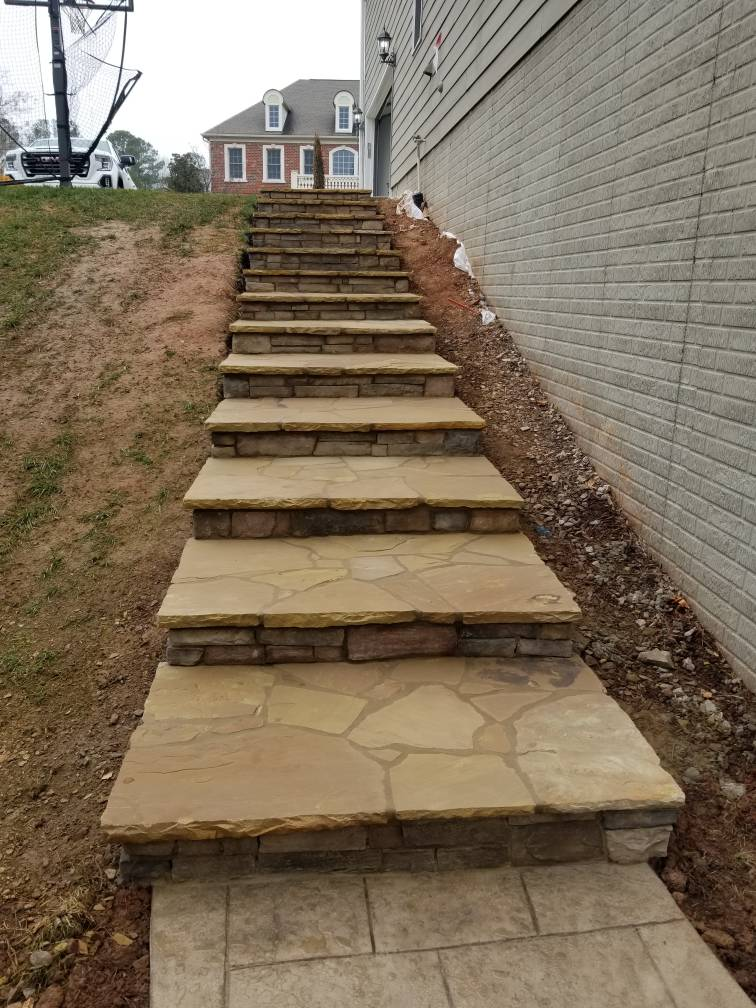 Spence Masonry steps