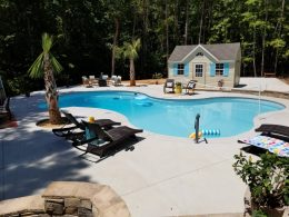 Youngsville pool with 8 foot diamond tool joints