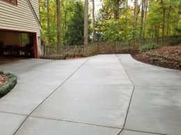 broomed driveway 7