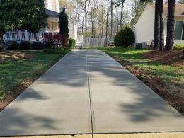 broomed driveway 8
