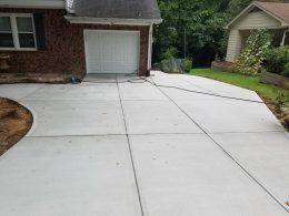millbrook driveway after