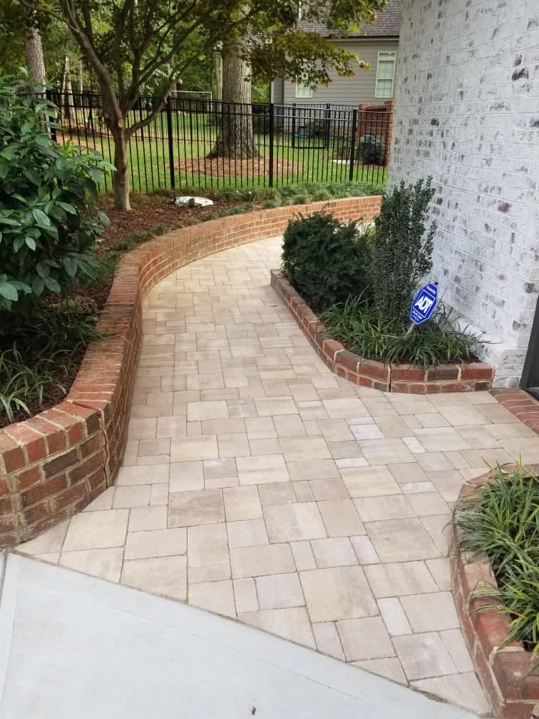 pavers walkway