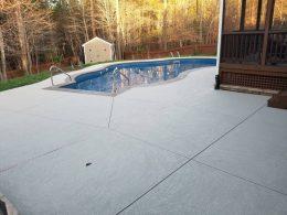 pool overlay