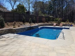 realtor pool with pavers behind