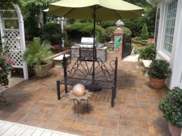 sealed paver patio