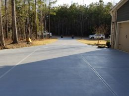 stained driveway 2